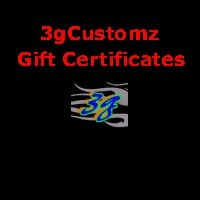 3g-Gift Certificates